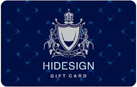 Hidesign E-Gift cards | Woohoo.in