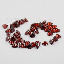 <b>100pcs</b>/<b>lot free shipping</b> 3x3mm-12x12mm cubic zirconia garnet