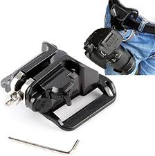 BW <b>Camera Belt</b> Clip System Holster For <b>DSLR</b> SLR <b>Cameras</b> ...