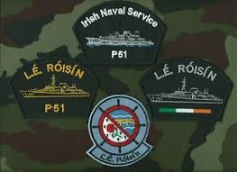 Militaria Irish Naval Service Patrol Vessel LÉ <b>Aisling</b> Black Baseball ...