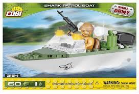 Купить <b>Конструктор Cobi</b> Small Army 2154 Патрульный катер ...