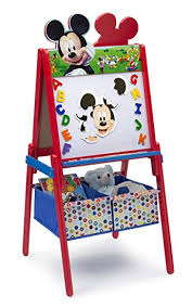 Delta Children Disney Wooden Double Sided Easel ... - Amazon.com