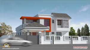 March   Kerala home design and floor plansModern house design in Chennai   Sq  Ft    Sq  M