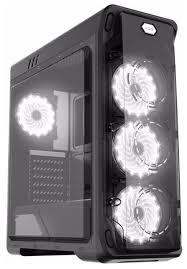 Компьютерный <b>корпус GameMax StarLight</b> Black/<b>white</b> — купить ...
