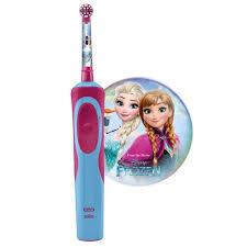 Детская электрическая <b>зубная щетка Oral-B Stages</b> Power Frozen ...