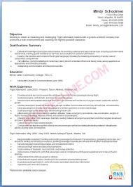 resume for flight attendant resume for flight attendant 0444