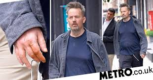 Matthew Perry makes rare public appearance after surgery amid ...