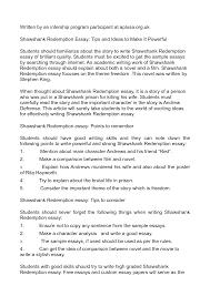 shawshank redemption analysis essay  essays about domestic  shawshank redemption analysis essay