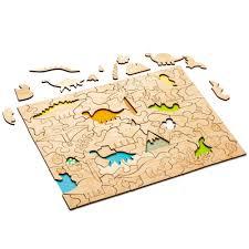 Развивающий эко-<b>пазл Wood</b> Games, <b>динозавры</b> оптом под ...