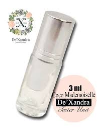 <b>DT20 Lady</b> Rose - De'Xandra Tester 3ml | Dxandra