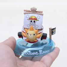 Online Shop <b>6pcs</b>/<b>lot</b> Japan Anime One Piece ship Thousand <b>Sunny</b> ...