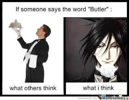 Black butler on Pinterest via Relatably.com