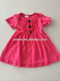 simple design baby girl summer dress for girls of 7 years old baby girl cotton dresses baby girl dress designs