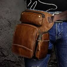 Genuine Leather men vintage <b>Belt Bag</b> | Кожа | Мужские сумки ...