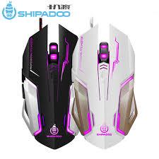 SHIPADOO RF3 <b>Ergonomic Mouse</b> Gamer Wired Optical Gaming ...