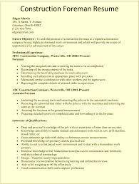 site superintendent resume sample cipanewsletter cover letter construction foreman resume examples construction