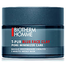 <b>Biotherm Homme T-Pur</b> Blue Face Clay Mask 50 ml