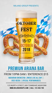 Oktoberfest Bar Event Video Template Ithempulethi | PosterMyWall