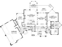 Paloma Luxury Home Plan D    House Plans and MoreArts  amp  Crafts House Plan First Floor   D    House Plans and More