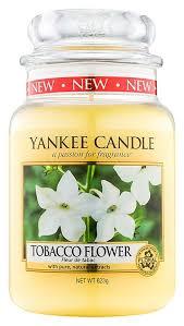<b>Ароматическая свеча Tobacco Flower</b> Yankee Candle купить ...