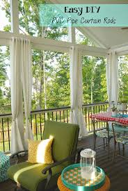 curtains patio ideas hanging