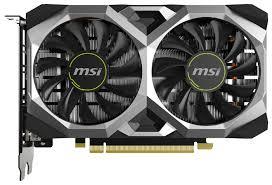 <b>Видеокарта MSI GeForce GTX</b> 1650 SUPER VENTUS XS OC 4GB ...