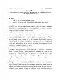 cover letter narrative essay example narrative essay example pdf  cover letter my college life essay examples general writing tips how to write a personal vsucecqnarrative