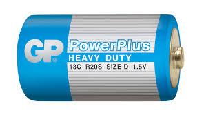 Купить <b>Батарейка D GP</b> Power Plus R20, 2 шт с доставкой по ...