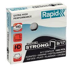 <b>Скобы Rapid 9/17</b> (<b>1000</b> шт.) Super Strong