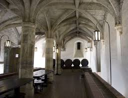 chic design ideas of underground arched table top wine cellar furniture