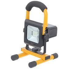 <b>Прожектор светодиодный Эра</b> IP65 10 Вт 900 Лм цвет желтый в ...