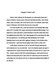 essay biography biography of michael jordan   a level physical education sport  page