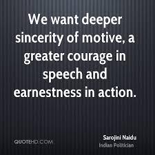 Sarojini Naidu Quotes   QuoteHD