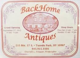 Image result for back home antiques tuxedo ny