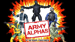 <b>Army</b> Alphas 1:12 (6 Inch <b>Scale</b>) Action Figure Line by Cryptid Toys ...
