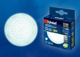 <b>Лампа</b> светодиодная (UL-00003723) <b>Uniel GX53 13W</b> 4000K ...