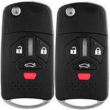 ECCPP Uncut Keyless Entry Remote Control <b>Car Key Fob Shell</b> ...