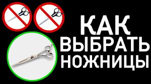 Как правильно выбрать <b>ножницы</b> - Парикмахерские курсы ...