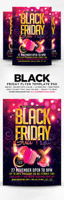 black friday s girls night flyer by designblend graphicriver black friday s girls night flyer flyers print templates