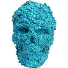 <b>Копилка Skull</b> Flowers Light Blue 51546 в Киеве купить <b>kare</b>-design ...