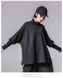 XITAO <b>Bandage</b> Women T Shirts <b>Plus Size Casual</b> Batwing Sleeve ...
