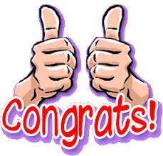 「congratulation!」の画像検索結果