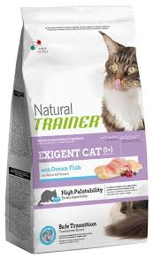 <b>Корм</b> для кошек <b>TRAINER Natural</b> Exigent Cat with Ocean fish (1.5 кг)