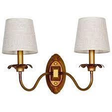 <b>European</b> antique copper <b>iron wall lamp</b> creative atmosphere living ...