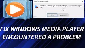 solved windows media player encountered a problem solved windows media player encountered a problem