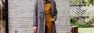 Как носить <b>пальто</b> в клетку? | <b>La Redoute</b>