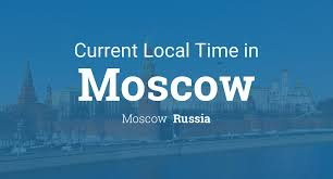 Current Local <b>Time</b> in Moscow, Russia