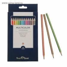 <b>Цветные</b> карандаши <b>Bruno Visconti</b> — купить на Яндекс.Маркете