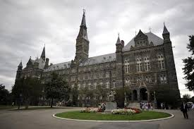 How Georgetown University Once Relied On The Slave Trade And New     The Diane Rehm Show Healy Hall  the flagship building of Georgetown University     s main campus in Washington  DC