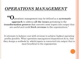 Image result for operation management image
